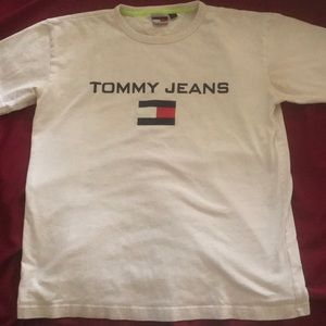 90's tommy jeans sailing tee